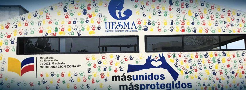 """Mural """"Más Unidos, Más Protegidos"""""""